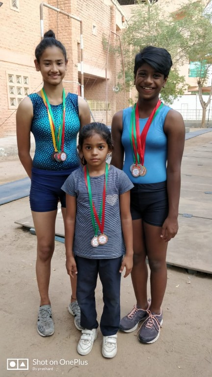 ARTISTIC GYMNASTIC TEAM @DISTRICT LEVEL